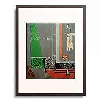 アンリ・マティス Henri Matisse 「The Piano Lesson」 額装アート作品