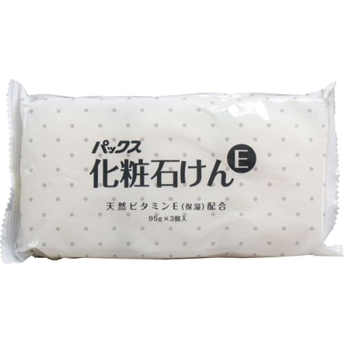 バタフライお手伝いさん式パックス化粧石けんE 95g×3