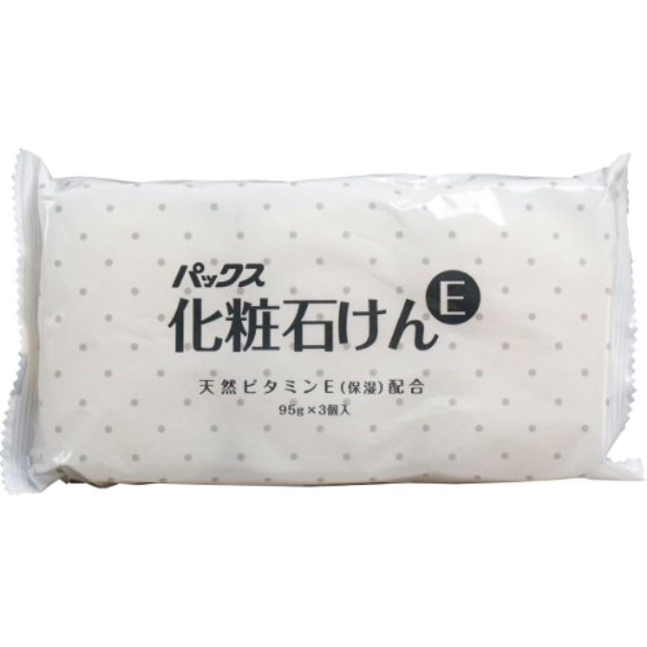 メロドラマ税金稚魚パックス 化粧石けん (95G X3個入り)【6個パック】
