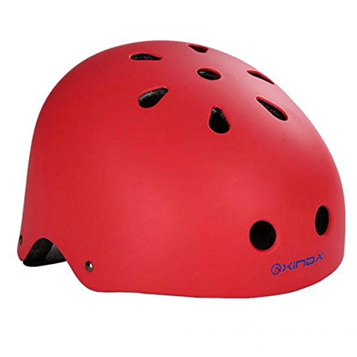 毎回サミュエルビデオノーブランド品 2個 キッズ 懸垂下降 クライミング ヘルメット ヘッドプロテクター 柔らかい 通気性 全3サイズ - M