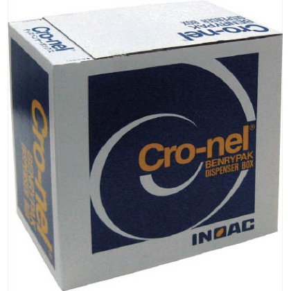 イノアック クロネルディスペンサーボックス 茶 1.6×145mm×40M巻 YE160DNS