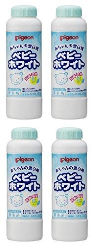 【まとめ買い】ピジョン 赤ちゃんの漂白剤ベビーホワイト350g×4個