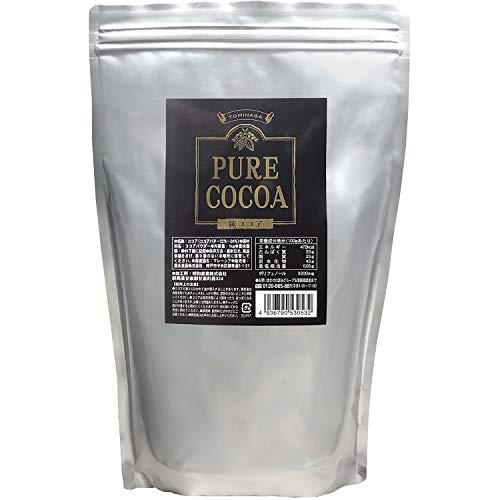 富永貿易 TOMINAGA ピュアココア [ 無糖 ガーナ産 純ココア カカオパウダー チャック付き ] 1kg