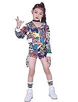 新品入荷キッズ ダンス衣装 ジャズ ダンス 衣装 子供 チアガール ダンス衣装 ガールズ ダンス 衣装 セットアップ 大きいサイズ (ジャケット単品, 170cm)