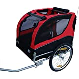 New Skiiddii Foldable Dog/Pet Bicycle Trailer Bike Trailer Dog Trailer