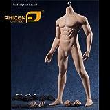 ファイセン・リミテッド 1/6 ステンレス骨格 超柔軟シームレス男性素体 PL2016-M33