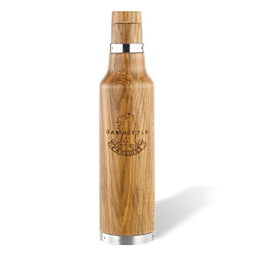 OAK BOTTLE (オークボトル)CLV-298-M (容量:355ml) 【ワイン・ウイスキーの熟成ができるボトル】