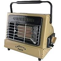 California Patio (カリフォルニアパティオ) カセットガスヒーター, 低温時装置ジェネレーター搭載, カセットガスストーブ仕様, 屋外専用アウトドアヒーター