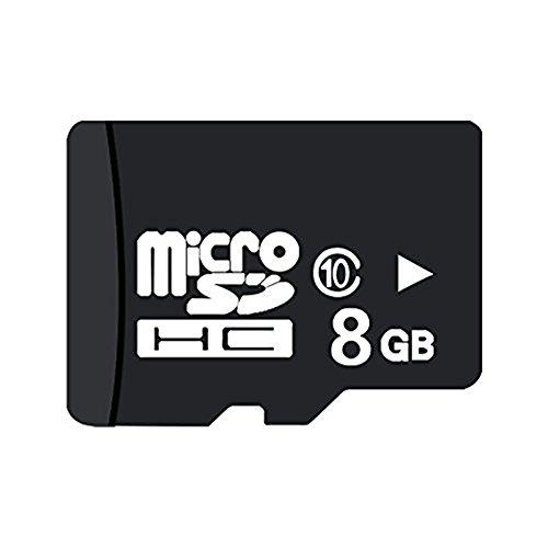 8GB カード Finnart MicroSD メモリカード 8GB TFカード 超高速転送 Class10 クラス10フラッシュメモリ SDアダプタ付き 携帯電話、タブレット、ドライブレコーダー、ゲーム機、カメラなどに適用 (8G)