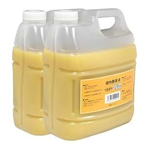 【入浴用】植物酵素液つるぽか特濃 4L×2個セット