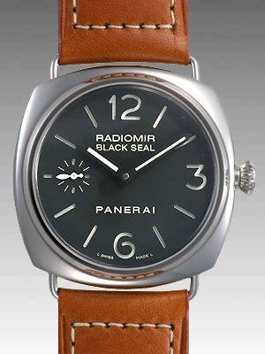 腕時計 【限定1000本】ラジオミール ブラックシール 45mm 手巻き レザー ブラック PAM00183 メンズ [並行輸入品] パネライ