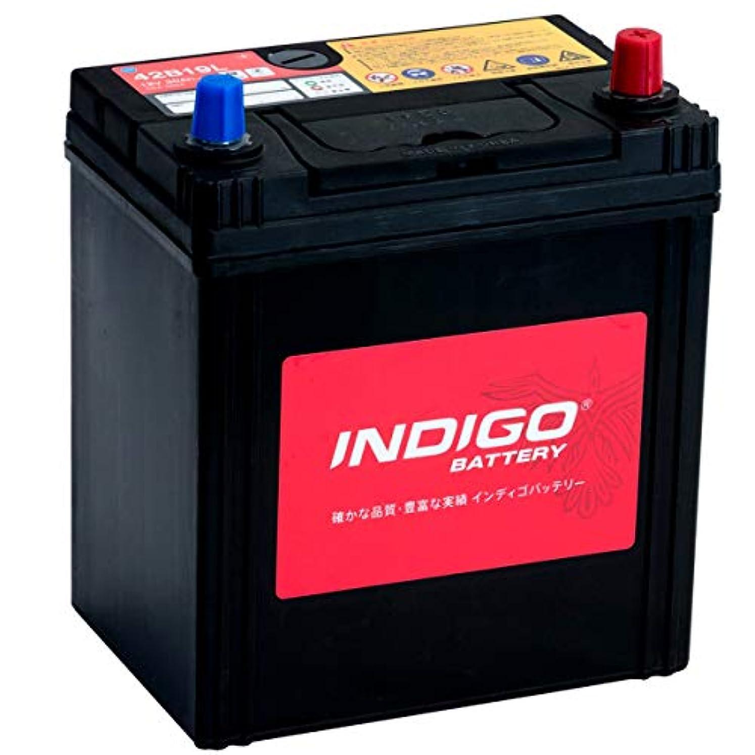 トランペットケニア縫うインディゴ バッテリー 42B19L ハイゼットカーゴ UE-S200V H15/6~H16/12