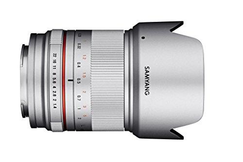 SAMYANG 広角単焦点レンズ 21mm F1.4 ED AS UMC CS シルバー フジフイルム X用 APS-C用 マニュアルフォーカス