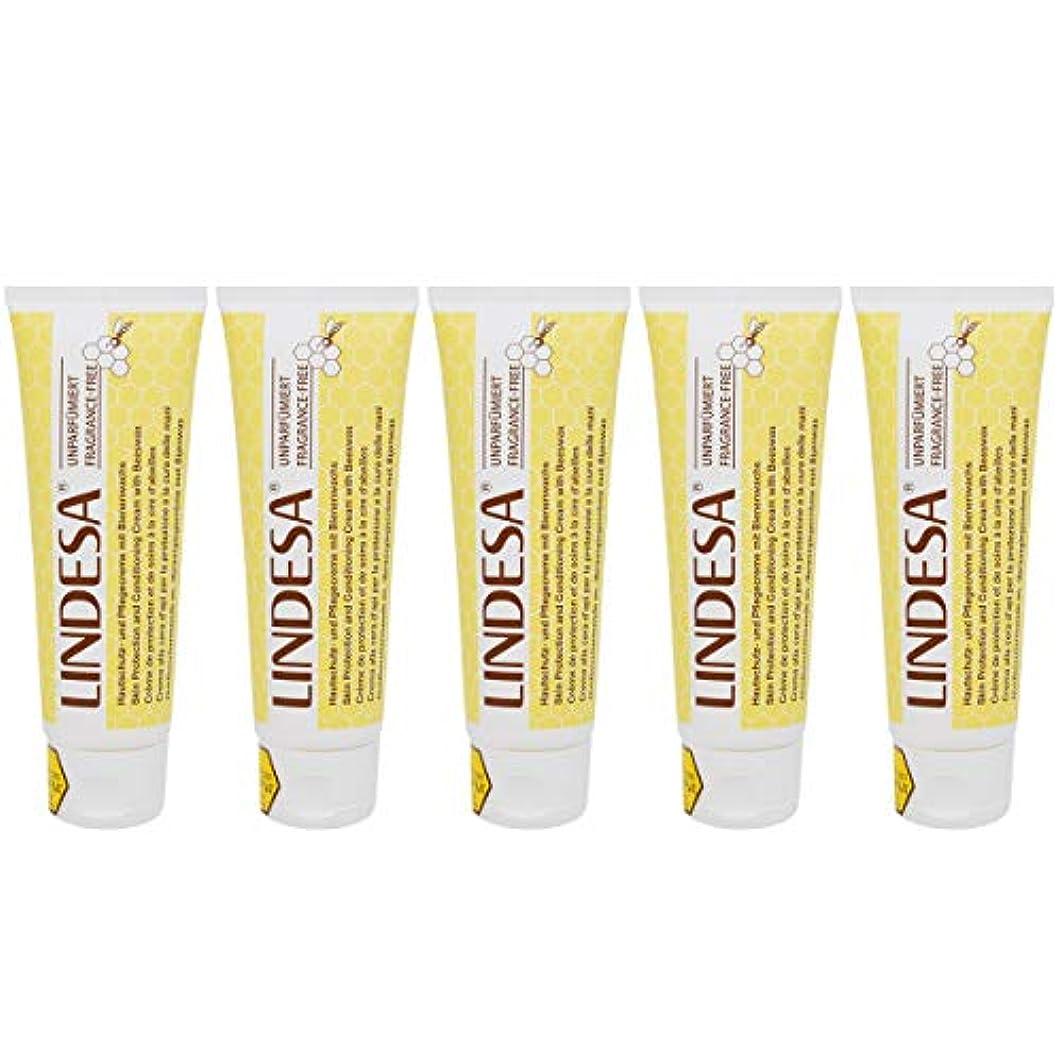 口述する複合自動化LINDESA リンデザ ハンド&スキンケアクリーム 無香料タイプ 75ml 日本国内正規品 5本セット
