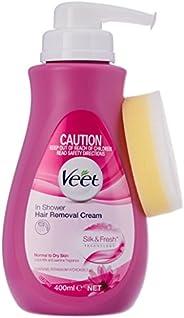 Veet In Shower Cream for Normal Skin Hair Removal, 400ml