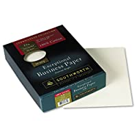 Southworth : Connoisseur Exceptionalビジネス用紙、アイボリー、32lb、手紙、250perボックス–: -の2パックとして販売–250–/–Total of 500各
