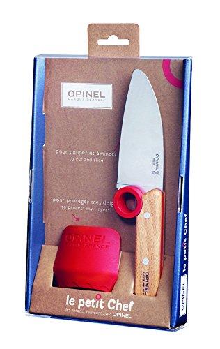 (オピネル) OPINEL シェフナイフ+プロテクトフィンガー 41507