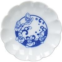 三郷陶器 ディズニー 小粋染付 豆皿(ベビーオイスター) 3230-111