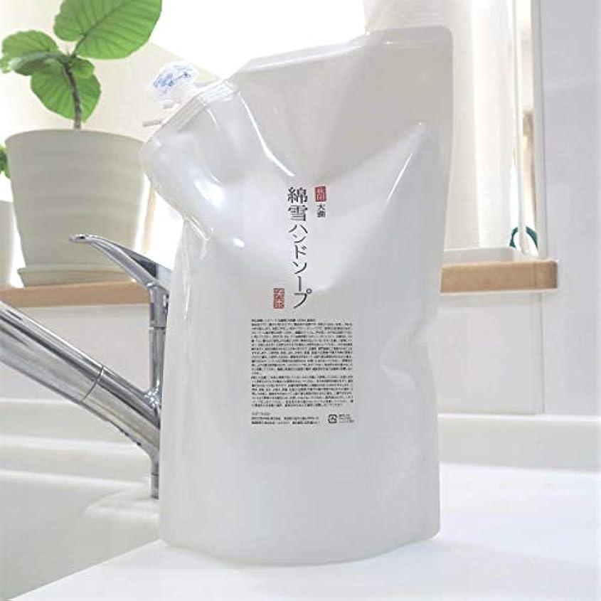 定期的な引き受けるペース綿雪ハンドソープ 1.4L