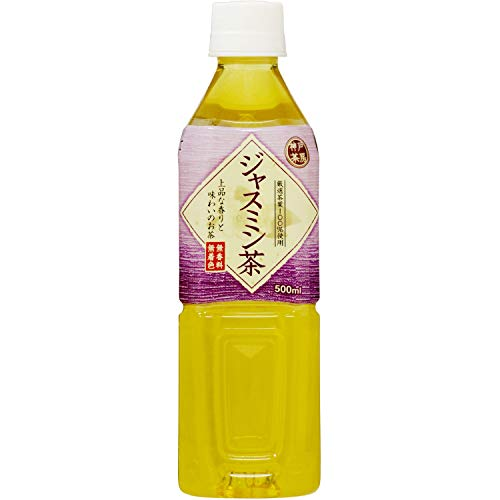神戸茶房 ジャスミン茶 500ml ×24本