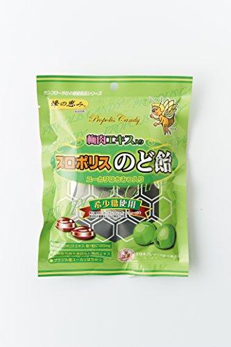 梅肉エキス入りプロポリスのど飴(5袋セット)