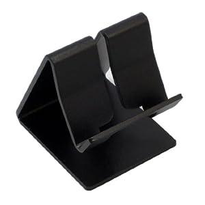 iPad/iPhone/iPod/スマートフォン用 アルミニウム製 スタンド ブラック