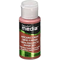 Media Antiquing Cream 1oz-English Red Oxide (並行輸入品)