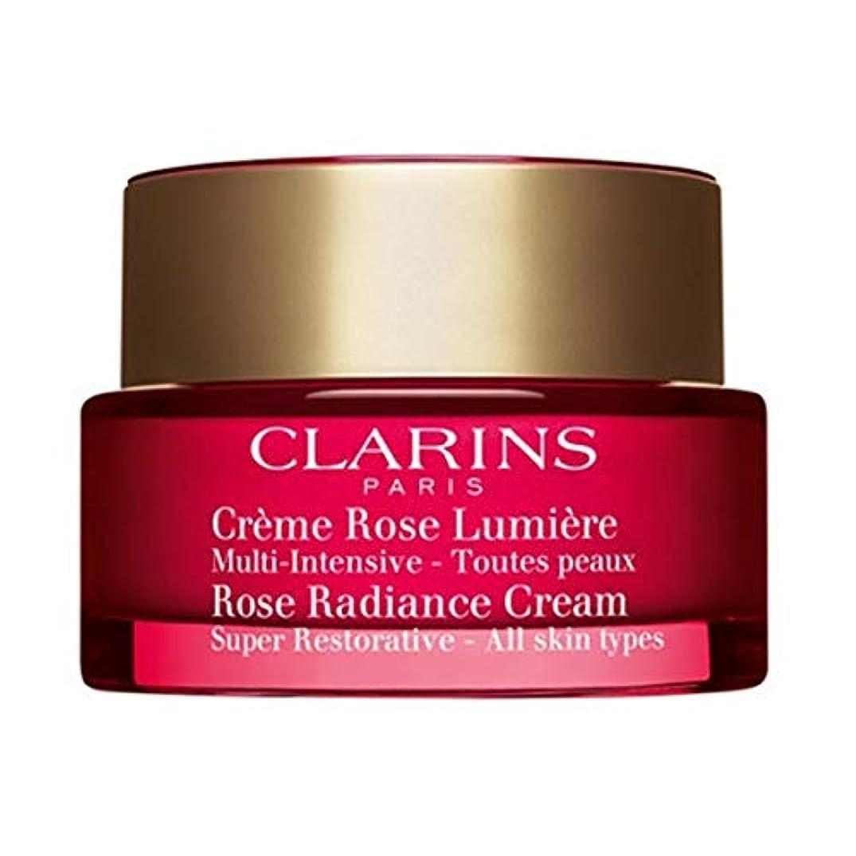 取る貫通する取るクラランス Super Restorative Rose Radiance Cream 50ml/1.7oz並行輸入品