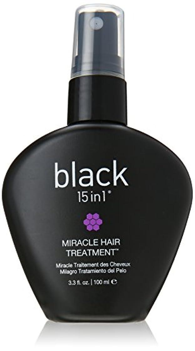 可動鉄流暢Black 15 In 1 Miracle Hair Treatment, 3.3 Ounce by BLACK 15 IN 1