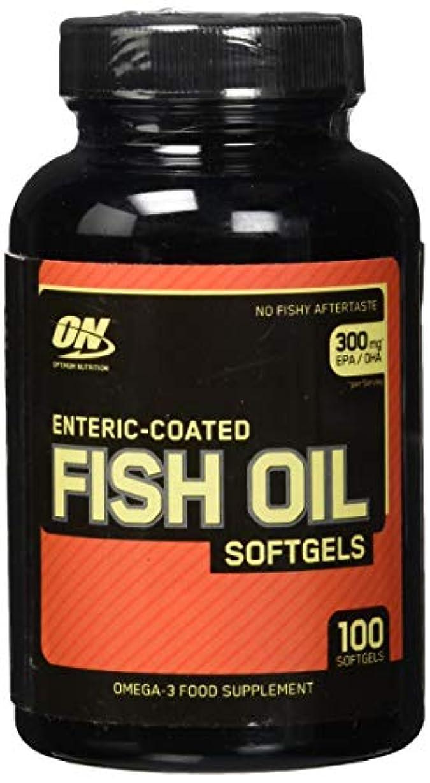 残る動力学徴収Enteric Coated Fish Oil 100 softgels 海外直送品