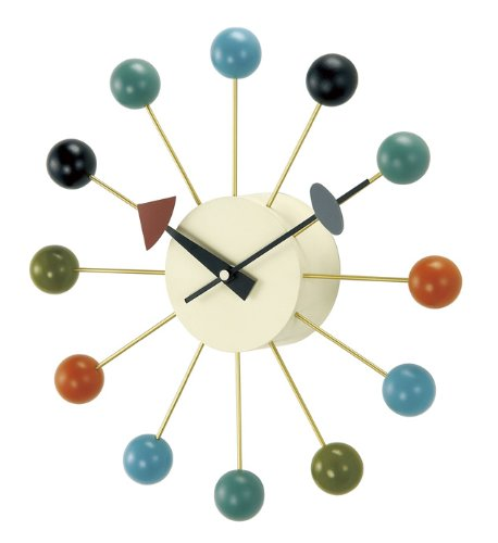RoomClip商品情報 - GEORGE NELSON BALL CLOCK ジョージ・ネルソン ボールクロック GN397C マルチ 51920073