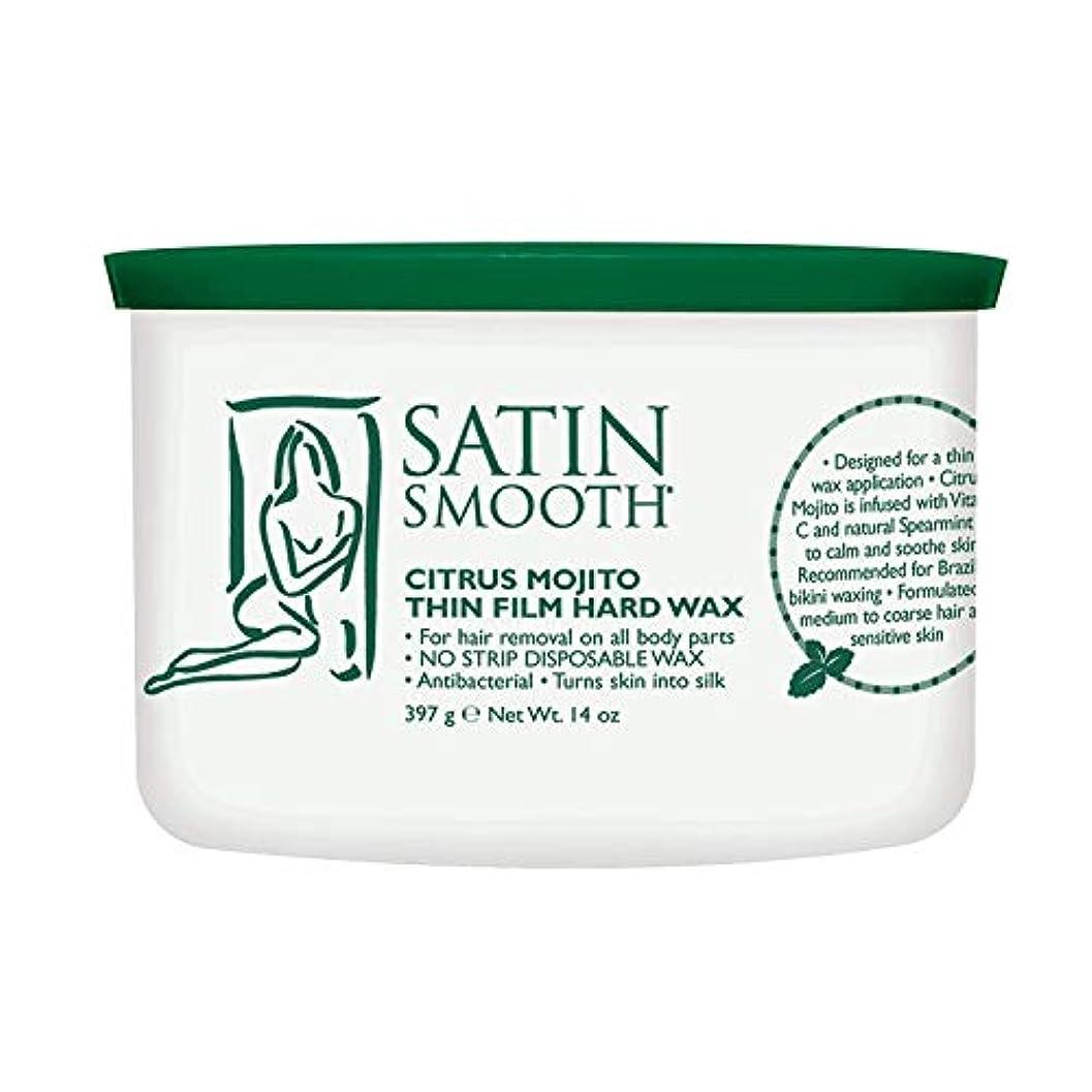取得するあたたかい放棄されたSatin Smooth Citrus Mojito Thin Film Hard Wax (並行輸入品)