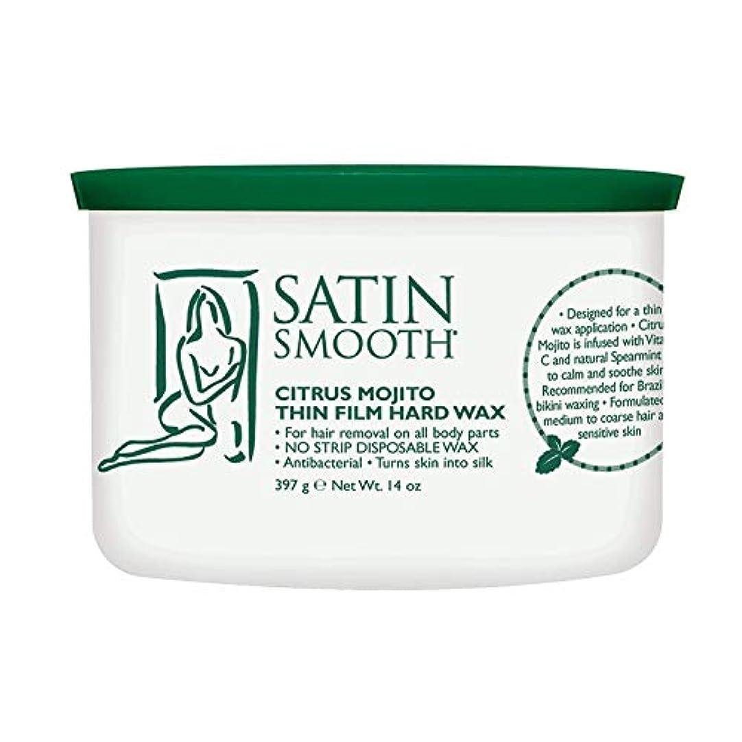宅配便ガム韓国語Satin Smooth Citrus Mojito Thin Film Hard Wax (並行輸入品)