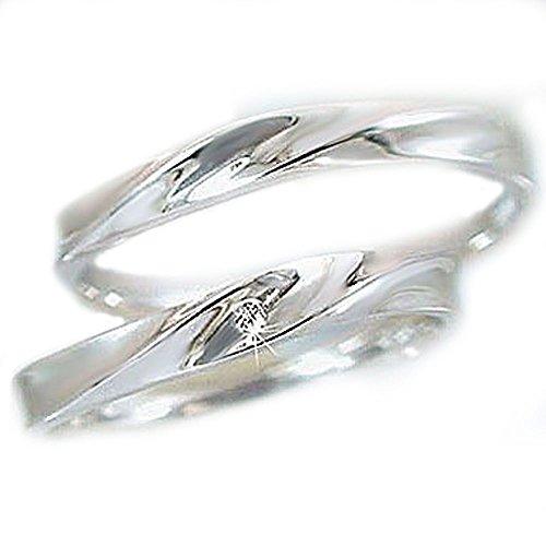 [해외]페어링 플래티넘 900 메리지 링 다이아몬드 페어 2 개 세트 | 다이아몬드 0.01ct/Pairing platinum 900 marriage ring 2 diamond pair set | diamond 0.01 ct