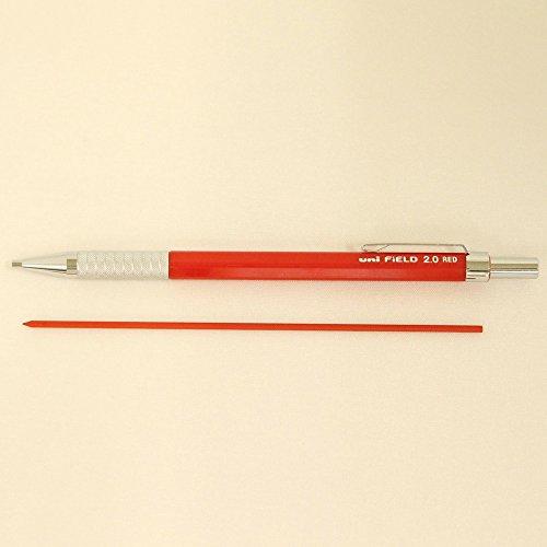 三菱鉛筆 シャープペン フィールド 2.0 赤芯 M207001P.15