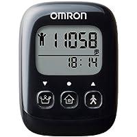 オムロン(OMRON) 歩数計 WellnessLink ブラック HJ-326F-BK