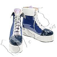 【UMU】 オーダーメイド VOCALOID ボーカロイド 冬の夜 ミク 初音ミク 風 コスプレ靴/ブーツ
