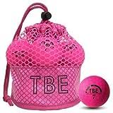 飛衛門 TOBIEMON R&A公認球 12球 蛍光マットボール(ピンク)メッシュバッグ入 ゴルフボール T-2MP