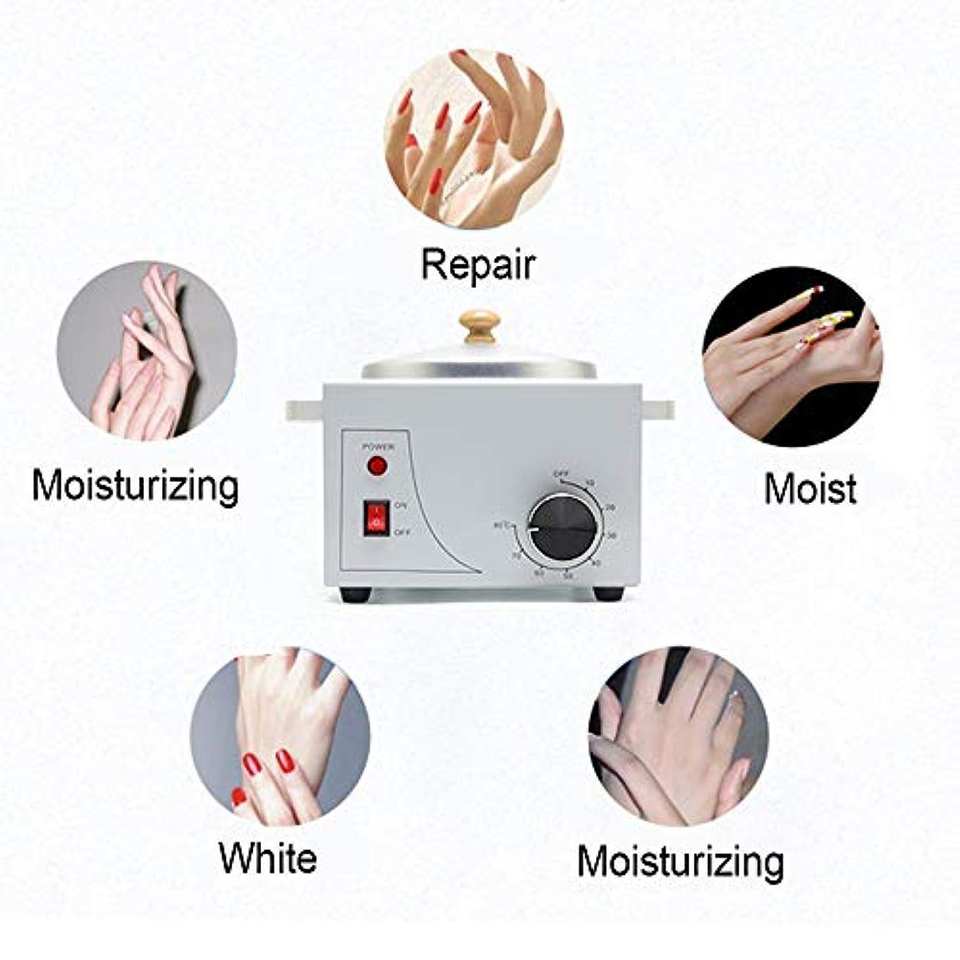 松明負担妖精携帯用電気ホットワックスウォーマーマシン可変温度での脱毛、プロフェッショナルシングルポット電気ワックスウォーマーマシンの