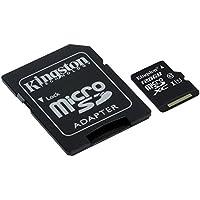 キングストン Kingston microSDXCカード 128GB クラス 10 UHS-I 対応 アダプタ付 Canvas Select SDCS/128GB 永久保証
