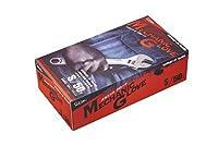 エステートレーディング No.1100 メカニックグローブ Sサイズ ブラック 50枚
