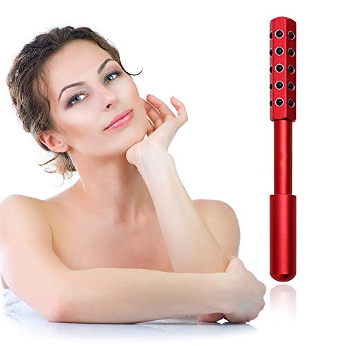 配管工ヘビー噴出する顔と体のためのゲルマニウムマッサージ美容ローラーは、血液の循環を促進し、皮膚の引き締め、毒素、皮膚の抗しわをクリア