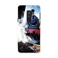 Galaxy S9+ SC-03K ギャラクシー S9+ ギャラクシー S9プラス Samsung サムスン docomo ドコモ スマホカバー カバー ケース pc ハードケース 写真・風景 写真 機関車 006487