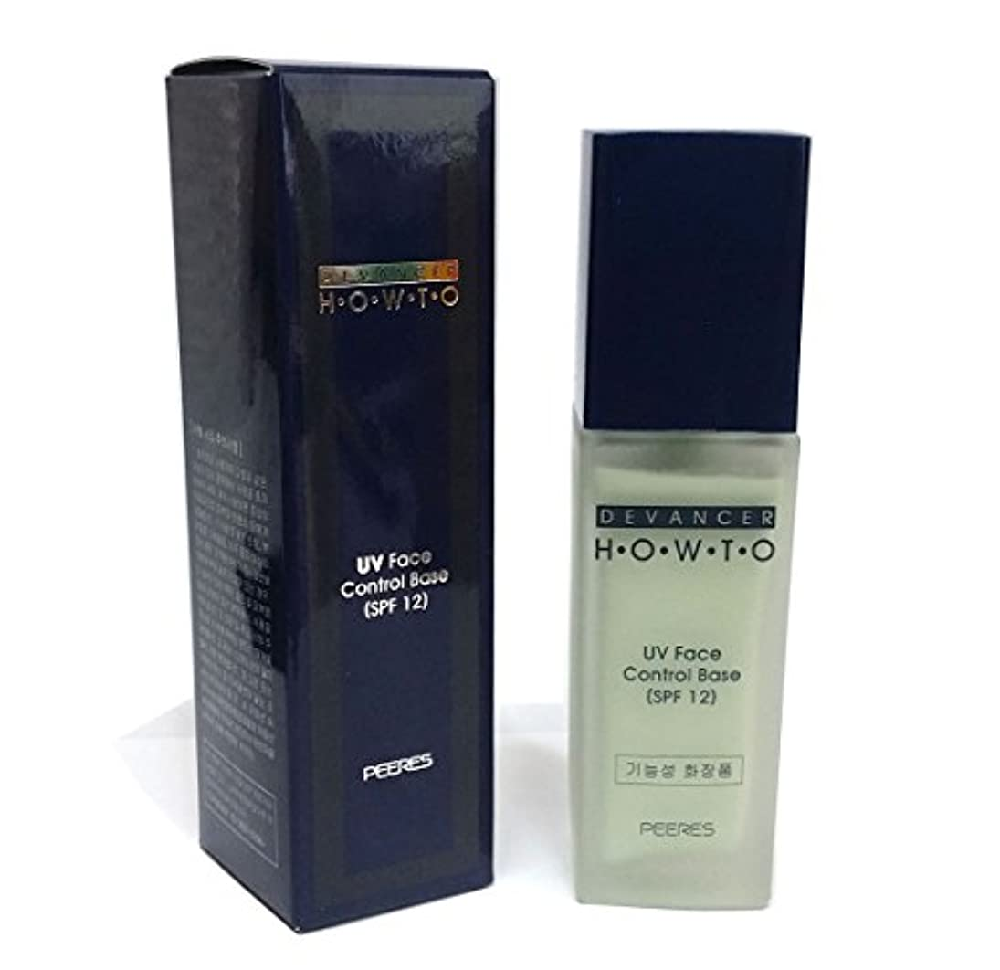 魅惑する酸素料理をする[Devancer] Peeres UVフェイスコントロールベース40g(SPF12)No.50グリーン / Peeres UV face Control Base 40g(SPF12) No.50 green / メイクアップベース / Makeup Base / 韓国化粧品 / Korean Cosmetics [並行輸入品]