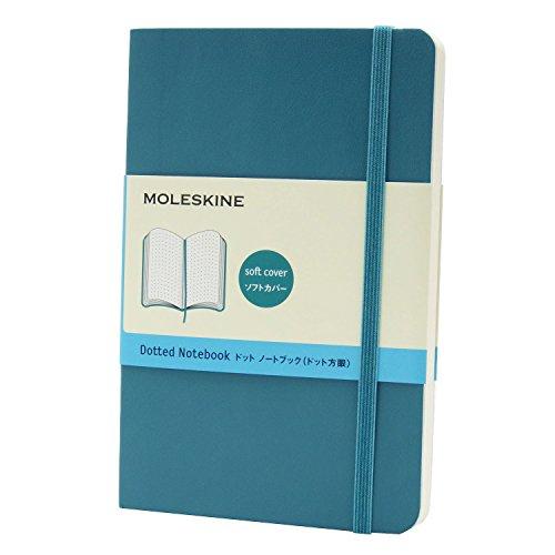モレスキン カラーノート ソフト ドット ポケット QP614B6 アンダーウォーターブルー