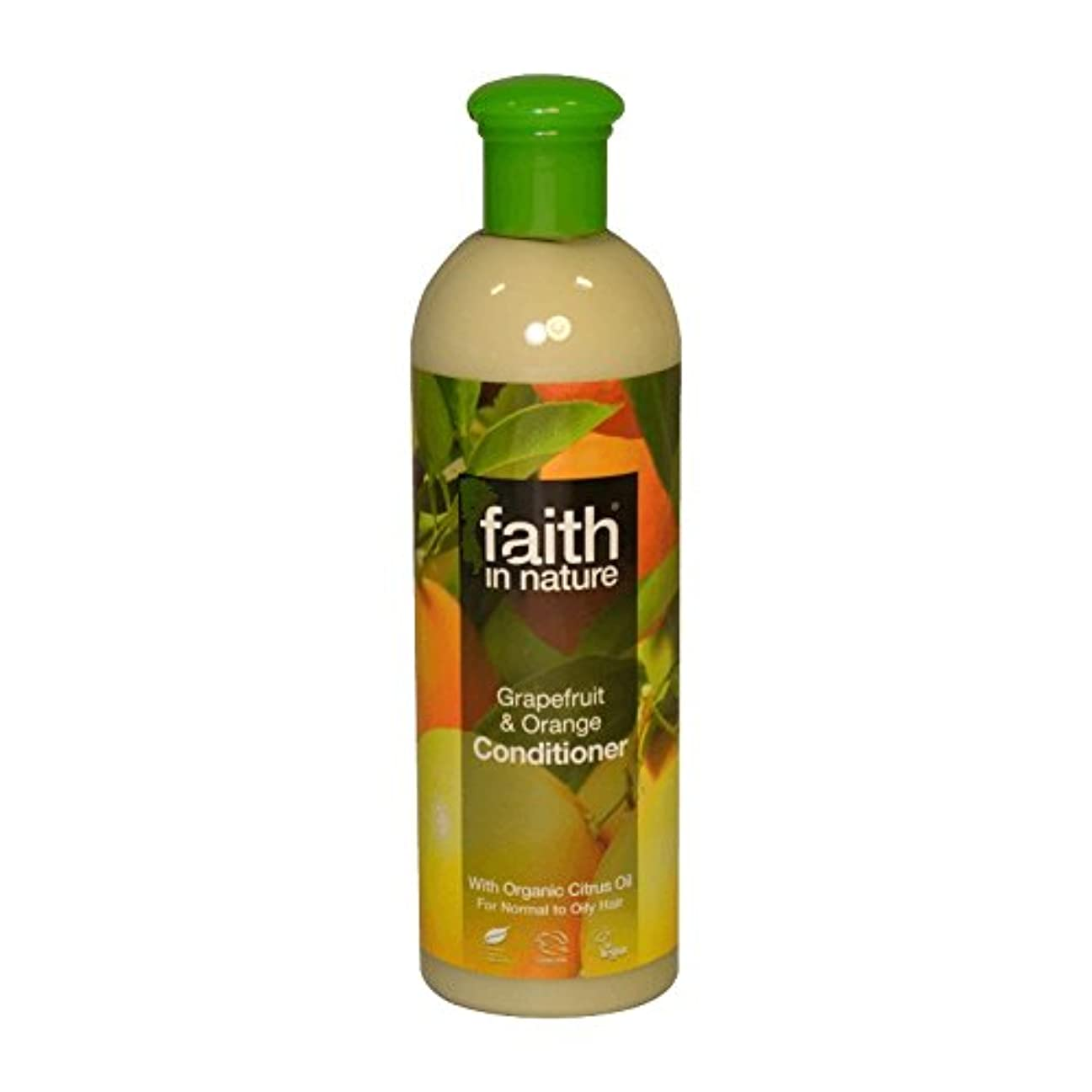 請求可能弾薬保険をかけるFaith in Nature Grapefruit & Orange Conditioner 400ml (Pack of 2) - 自然グレープフルーツ&オレンジコンディショナー400ミリリットルの信仰 (x2) [...