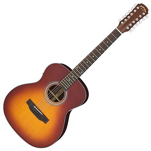 Aria/アリア  アリアドレッドノ-ト AF-205/12  AF205/12弦ギター TS Tobacco Sunburst     専用ソフトケース付き