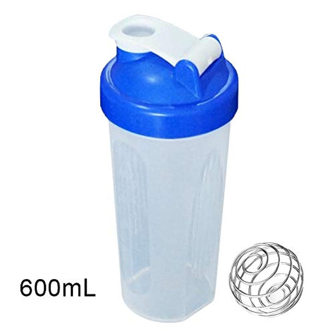 持っている間接的舞い上がるZaRoing ブレンダーボトル プロテインパウダー揺れ瓶 プロテインシェーカー 栄養補助瓶 400/600ml