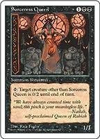 英語版 第5版 Fifth Edition 5ED 魔術師の女王 Sorceress Queen マジック・ザ・ギャザリング mtg