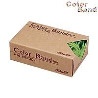 共和 オーバンド カラーバンド プチ 30g ライトグリーン GGC-030-LG ゴムバンド